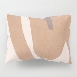 abstract minimal girl Pillow Sham