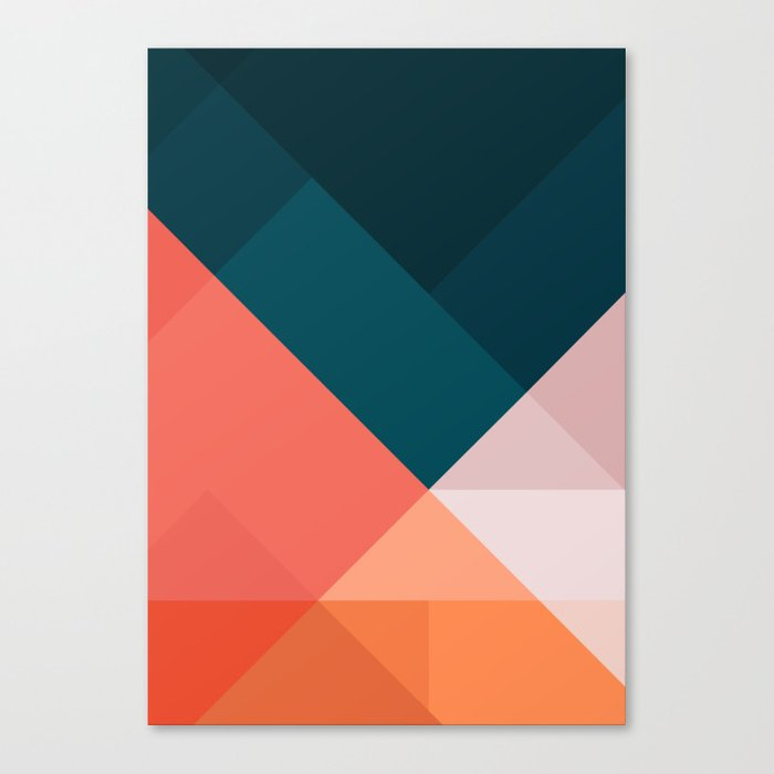 Geometric 1708 Canvas Print