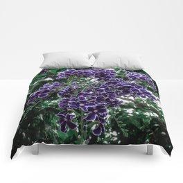 Cascading Flowers Comforters