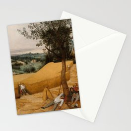 THE HARVESTERS, by Pieter Bruegel the Elder, 1565 Stationery Cards