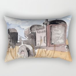 Tractor Rectangular Pillow