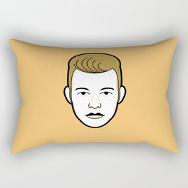 Rebellious Jukebox #6 Rectangular Pillow