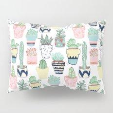 Cute Cacti in Pots Pillow Sham