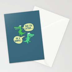 in a while... Stationery Cards
