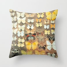 The Butterfly Collection I Throw Pillow