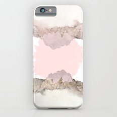 Pale Pink on Mountains Slim Case iPhone 6s