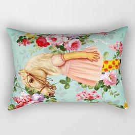 Pony Girl Rectangular Pillow