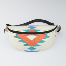 geometry navajo pattern no3 Fanny Pack