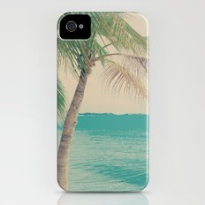 Coco Palm in the Beach  iPhone (4, 4s) Slim Case