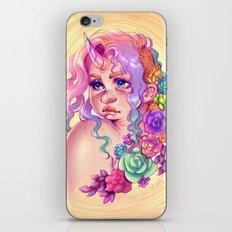 Succulent Unicorn iPhone & iPod Skin
