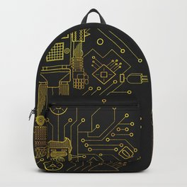 Lady and Gent Electro Love Backpack