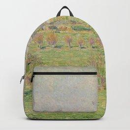 Camille Pissarro - Le pre et le grand noyer, printemps, Eragny Backpack