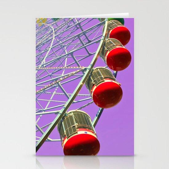Fair Pulple sky! Stationery Cards