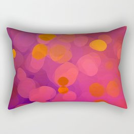 Mulberry Microcosm Rectangular Pillow