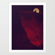 The Fall From Grace Art Print