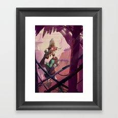 The Bounty Hunter Framed Art Print