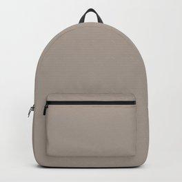MORRIS ROOM GREY Neutral solid color Backpack