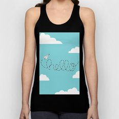 Passing Notes Unisex Tank Top