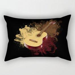 GUITAR DROPS Rectangular Pillow