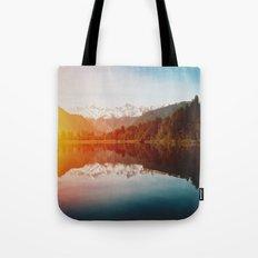 Lake Matheson Tote Bag