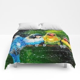 COMPANY OF PARROTS Comforters