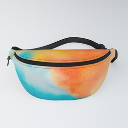 Endless Summer Abstract Painting Fanny Pack