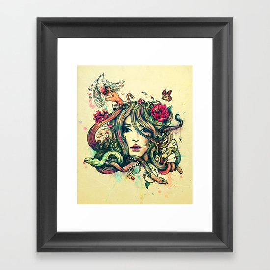 Beauty Before Death Framed Art Print