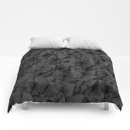 Dark butterflies Comforters