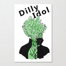 Dilly Idol Canvas Print