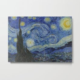 The Starry Night Metal Print