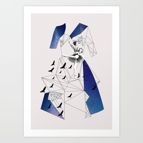 Filled with stars Art Print