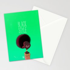 Black Woman Stationery Cards