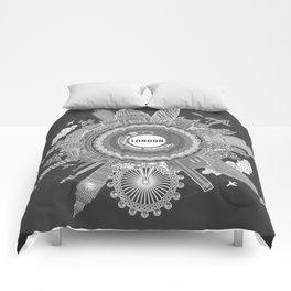 ALL AROUND LONDON - B/W Comforters