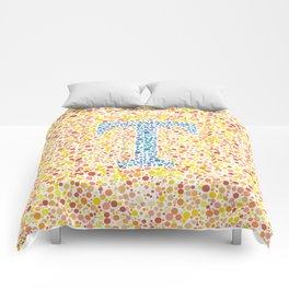 """""""T"""" Eye Test Full Comforters"""