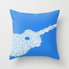 Country Guitar Throw Pillow