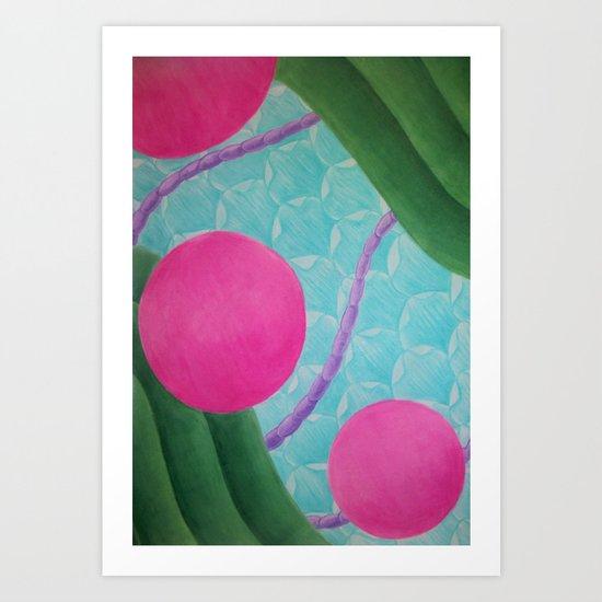 Earth Splitter Art Print