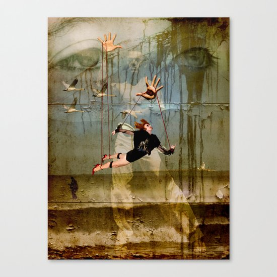 You can fly Canvas Print