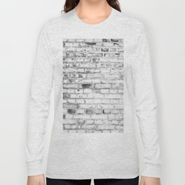 Withe brick wall Long Sleeve T-shirt