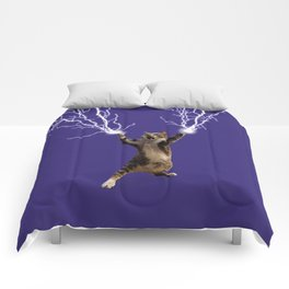 Lightning Cat Comforters