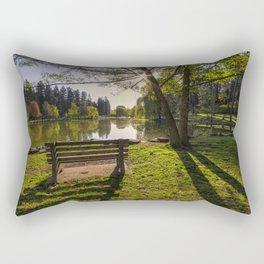 Manito Spring Morning Rectangular Pillow