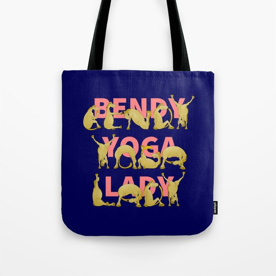 Yoga Pony Tote Bag