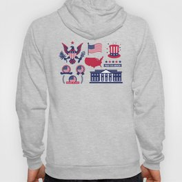 Proud To Be American Happy National Presidents Day Hoody