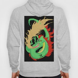 Fire-breathing Dragon Hoody