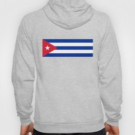 Flag of Cuba - Banner version (High Quality Image) Hoody
