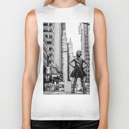 Fearless Girl New York City Biker Tank