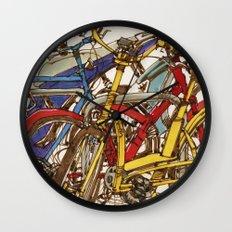 Bike Mess Wall Clock