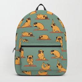 Pug Yoga Backpack