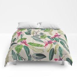 Bird Garden Vintage Comforters