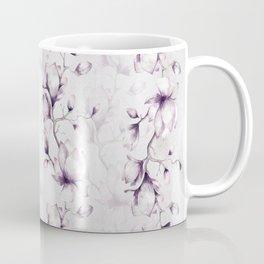Lovely Mauve Magnolia Blossoms Coffee Mug