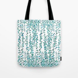 string of pearl watercolor Tote Bag